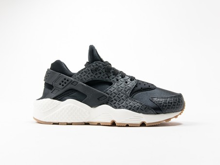 Nike Air Huarache Run Premium Black Wmns-683818-011-img-1