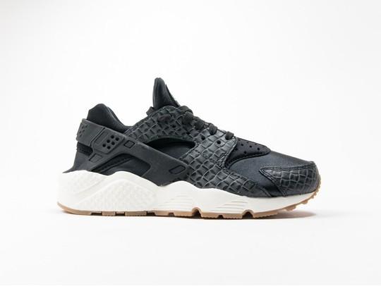 Nike Air Huarache Run Premium Black Wmns-683818-011-img-1