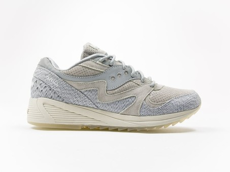 Saucony Originals Dirty Snow II Grid 8000 CL Grey-S70306-1-img-1