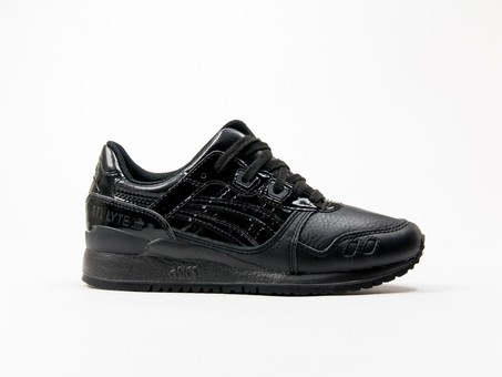 Asics Gel Lyte III Patent Black Wmns-H7E1Y-9090-img-1