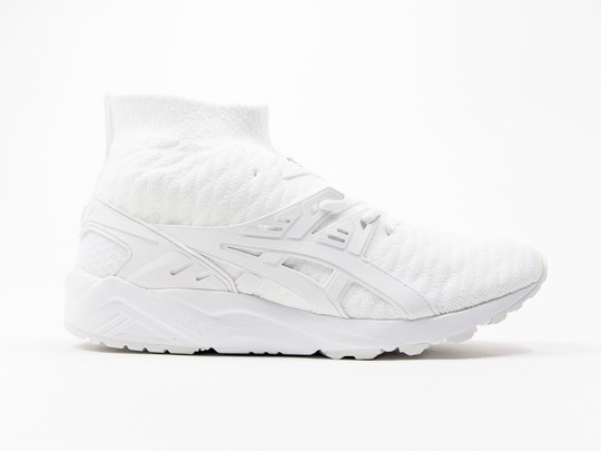 Asics Gel Kayano Trainer Evo Knit White-H7P4N-0101-img-1