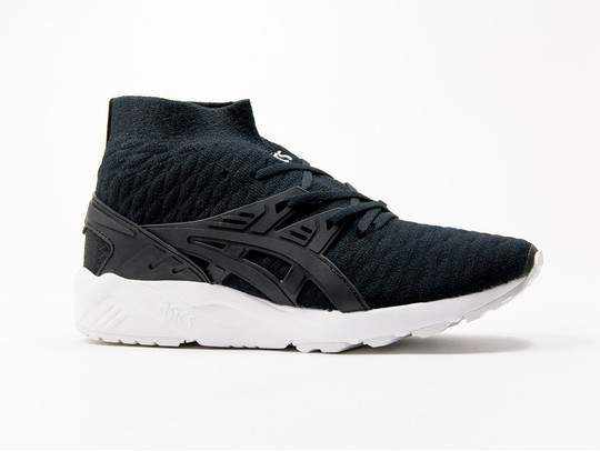Asics Gel Kayano Trainer Evo Knit Black-H7P4N-9090-img-1
