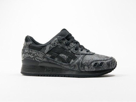 Asics Gel Lyte III Black Leather Wmns-H7S5L-9090-img-1