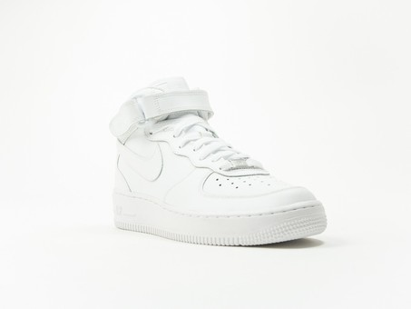 Nike Aire Force 1 MID GS White Wmns-314195-113-img-2