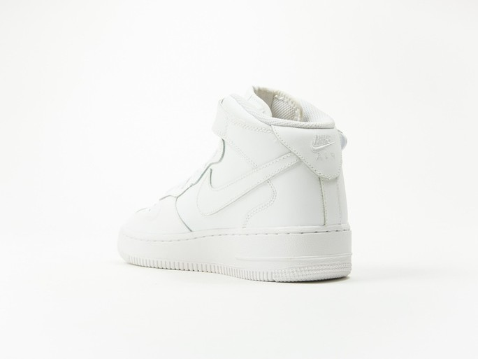 Nike Aire Force 1 MID GS White Wmns-314195-113-img-3