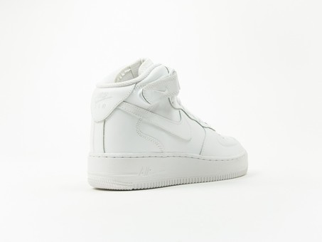Nike Aire Force 1 MID GS White Wmns-314195-113-img-4