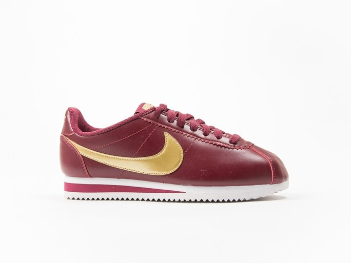 Nike Classic Cortez Leather Red Wmns-807471-671-img-1