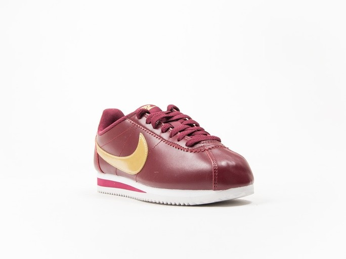 Nike Classic Cortez Leather Red Wmns-807471-671-img-2