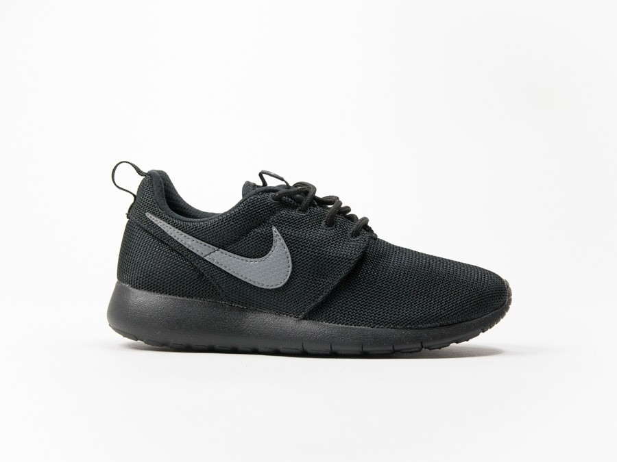 Nike Roshe Run GS Black Wmns