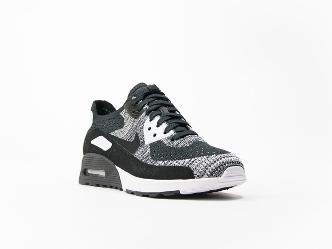 Nike Air Max 90 Ultra 2.0 Flyknit Black Wmns-881109-002-img-2