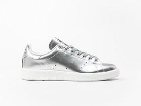 adidas Stan Smith Boost Silver Metallic Wmns-BB0108-img-1