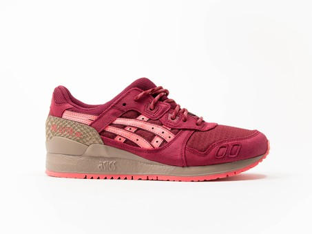 Asics Tiger Gel Lyte III Red