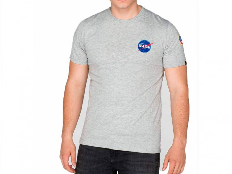 Camiseta ALPHA INDUSTRIES SPACE SHUTTLE T Grey