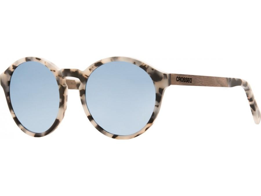 Gafas de sol Crossed PUPPIS CAREY BLANCO ESPEJO AZUL CIELO-PA003-img-1