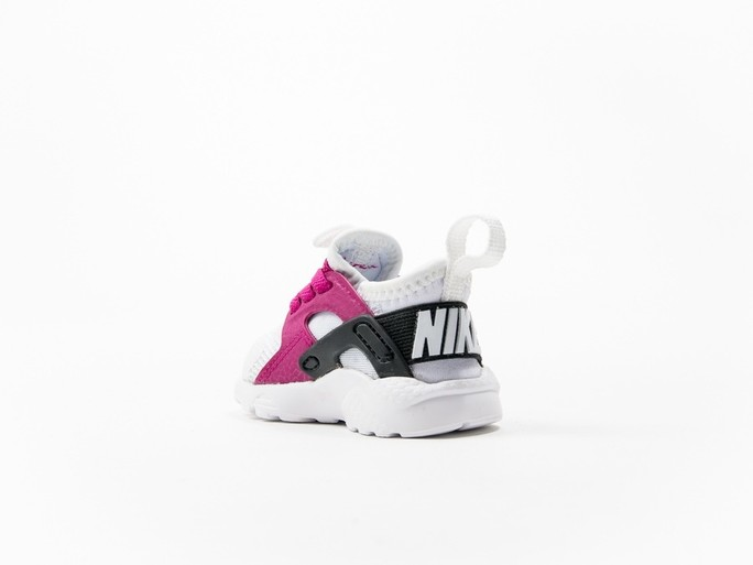 Nike Huarache Run Ultra White Kids-859595-101-img-3