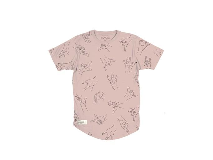Camiseta Two Angle Gangz - Graphic Tee Pink-GANGZ/PI-img-1