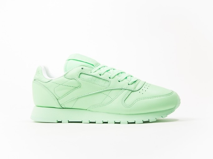Reebok Classic Leather Green Pastels Wmns-BD2773-img-1