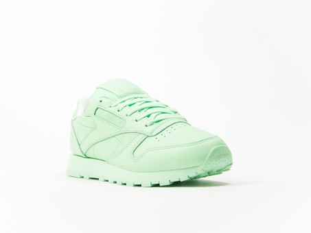Reebok Classic Leather Green Pastels Wmns-BD2773-img-2