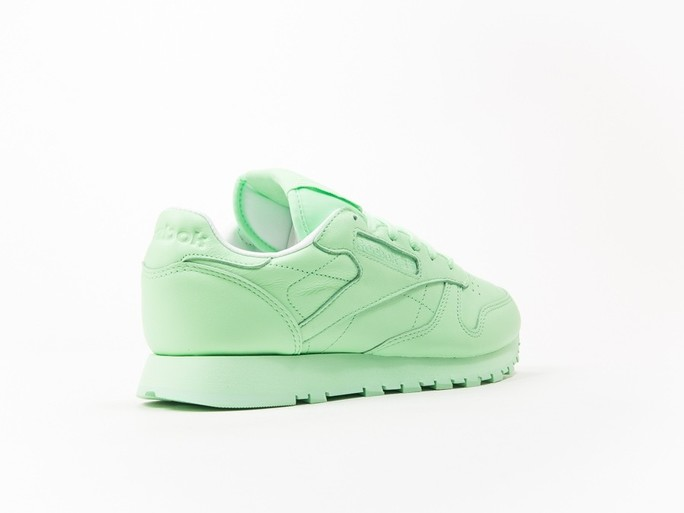 Reebok Classic Leather Green Pastels Wmns-BD2773-img-4