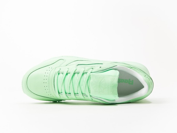 Reebok Classic Leather Green Pastels Wmns-BD2773-img-5