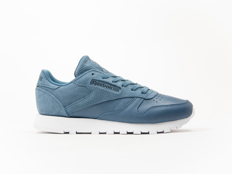 Reebok Classic Leather Blue Sea You Wmns