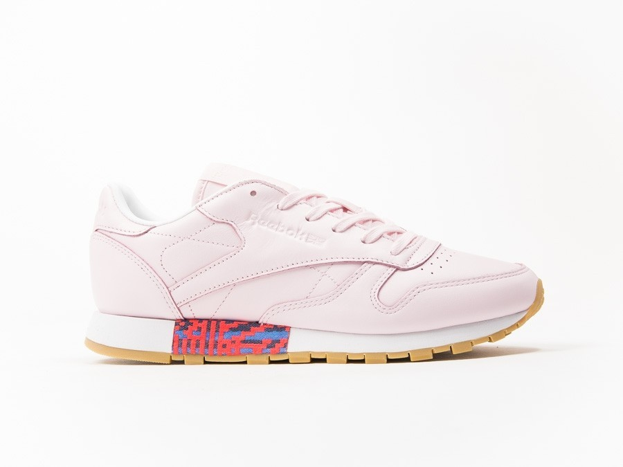 Reebok Classic Leather Pink Old Meet Wmns-BD3155-img-1