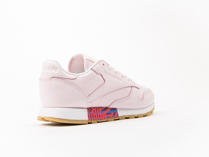 Reebok Classic Leather Pink Old Meet Wmns-BD3155-img-3