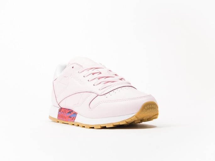 Reebok Classic Leather Pink Old Meet Wmns-BD3155-img-4