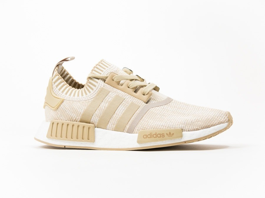 new concept ee978 4b07d adidas NMD R1 PK Linen Khaki-BY1912-img-1 ...