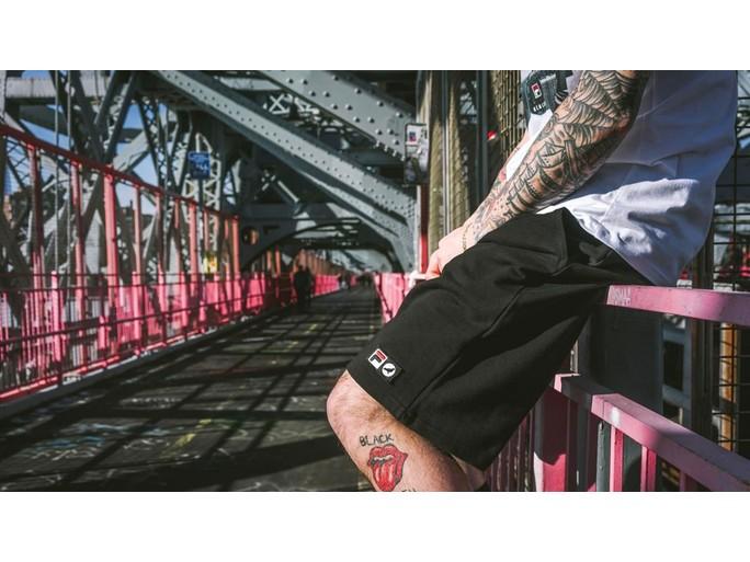 Pantalon Basic Sweatshort Black Fila X Staple-1702B3596/BL-img-2