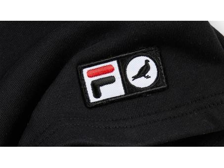 Pantalon Basic Sweatshort Black Fila X Staple-1702B3596/BL-img-4