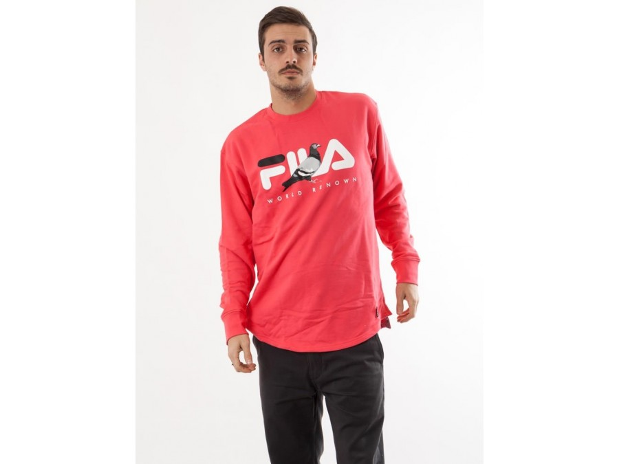 Jersey Loopback Red Fila X Staple