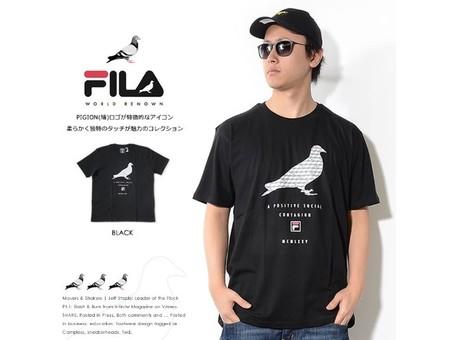 Camiseta Pigeon Fill Grey Fila X Staple-1702C3834/GR-img-2