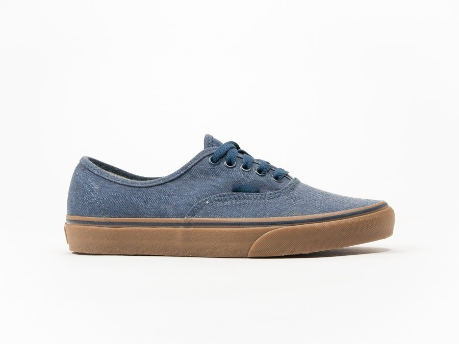 Vans Authentic Washed Canvas Blue-V4MKIL6-img-1