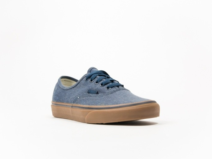 Vans Authentic Washed Canvas Blue-V4MKIL6-img-2