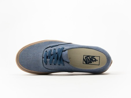 Vans Authentic Washed Canvas Blue-V4MKIL6-img-3