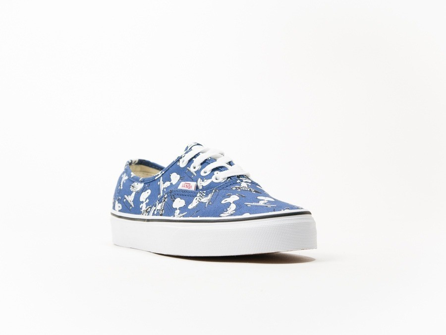 Vans Authentic Peanuts Snoopy SN Blue