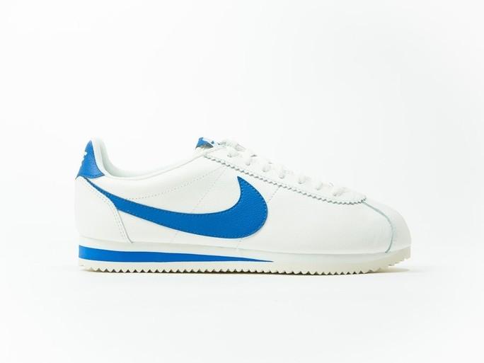Nike Classic Cortez Leather White/Blue-861535-102-img-1