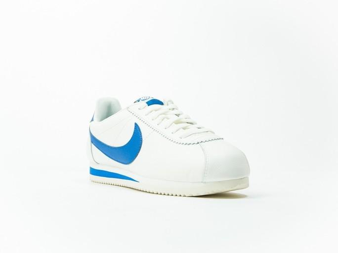 Nike Classic Cortez Leather White/Blue-861535-102-img-2
