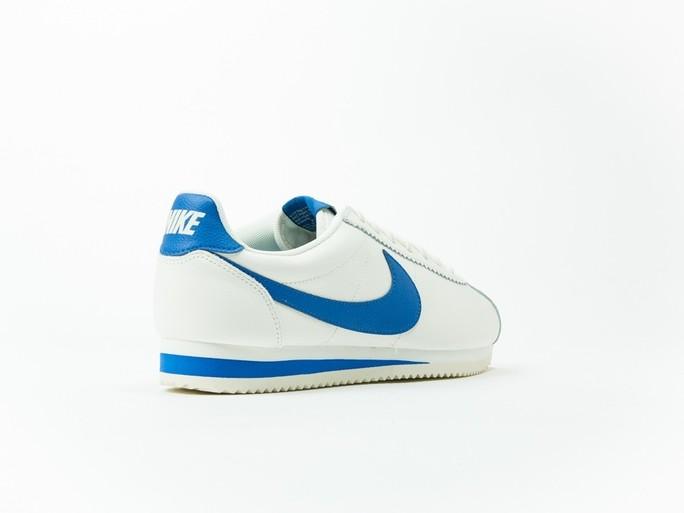 Nike Classic Cortez Leather White/Blue-861535-102-img-4