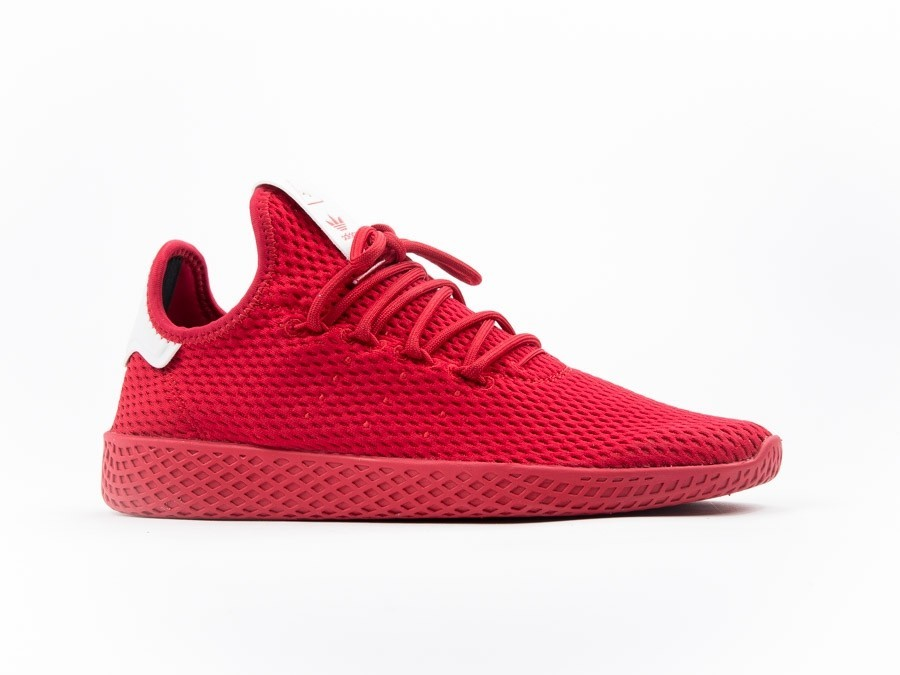 official photos 3640f be692 Adidas Pharrell Williams Tennis Hu Red-BY8720-img-1 ...
