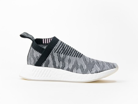 adidas NMD CS2 PrimeKnit Black White Wmns-BY9312-img-1