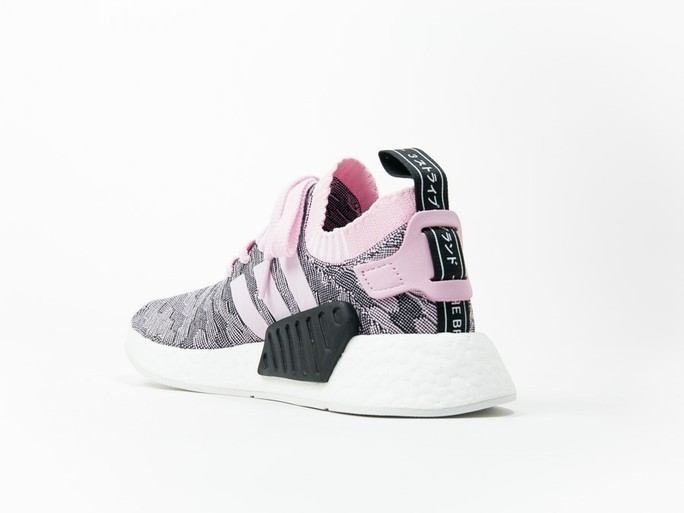 adidas NMD R2 PrimeKnit Pink Wmns-BY9521-img-3