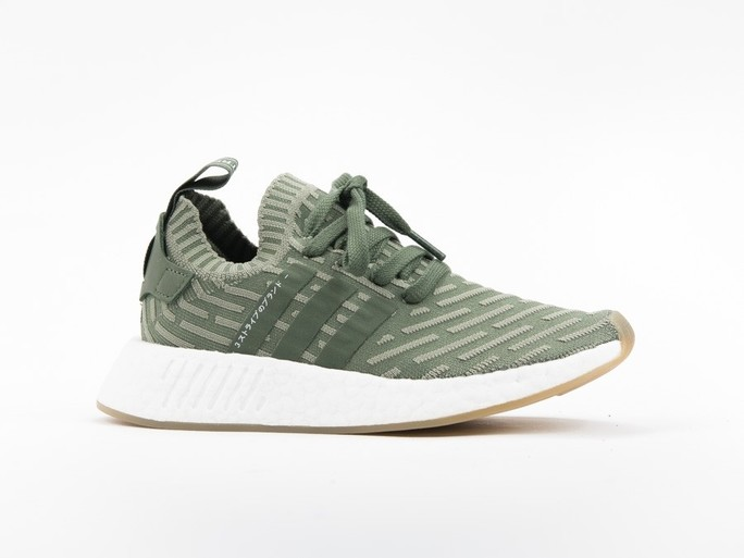 adidas NMD R2 Primeknit Green Wmns-BY9953-img-1