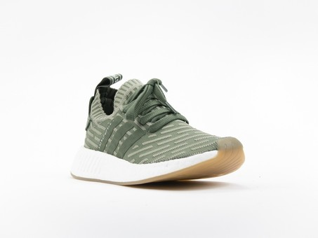 adidas NMD R2 Primeknit Green Wmns-BY9953-img-2