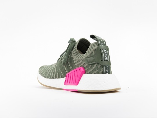 new product c1164 fe0a8 adidas NMD R2 Primeknit Green Wmns
