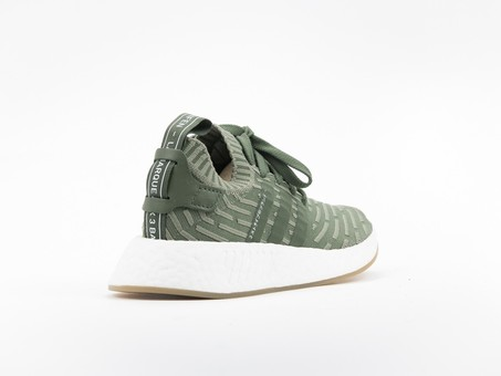 adidas NMD R2 Primeknit Green Wmns-BY9953-img-4