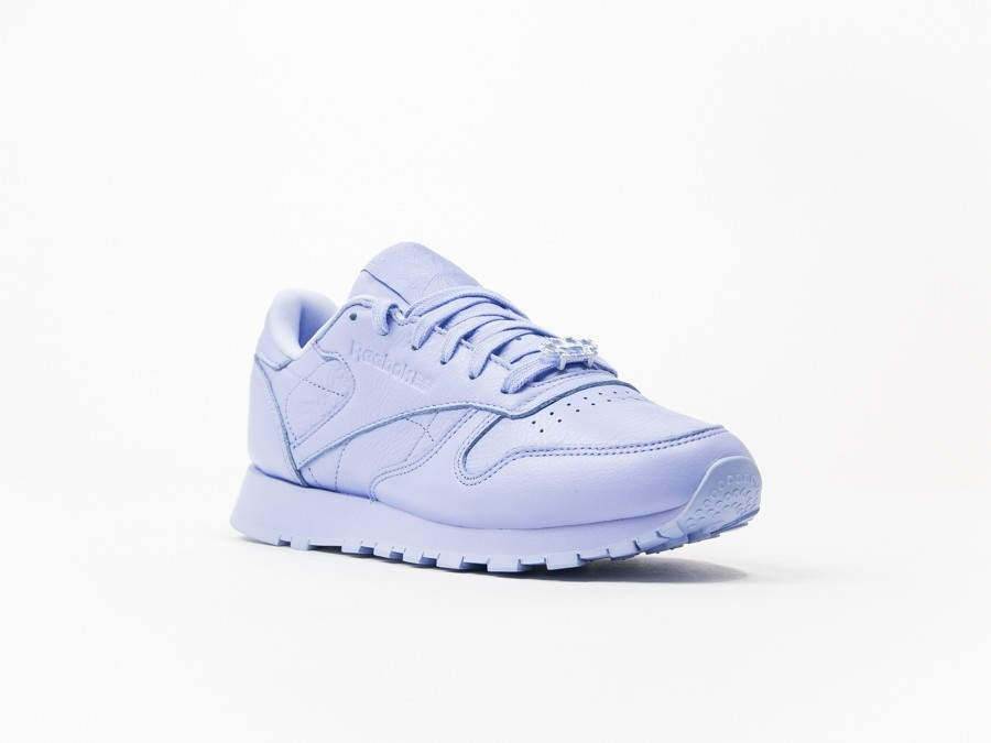Purple Bs7913 Thesneakerone Pearlized Bow Ice Leather Classic Reebok ZYxwq1XFZ