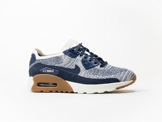 NIKE AIR MAX 90 FLYKNIT WMNS AZUL-881109-400-img-1