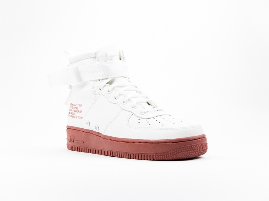 Nike Special Field Air Force 1 Mid Ivory Red 917753 100